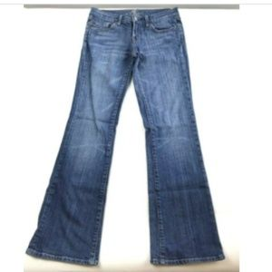 7 Seven For All Mankind Womens 27 Bootcut Jeans